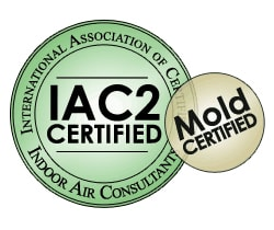 InterNACHI Certified Air Quality Inspector (Mold ticket)